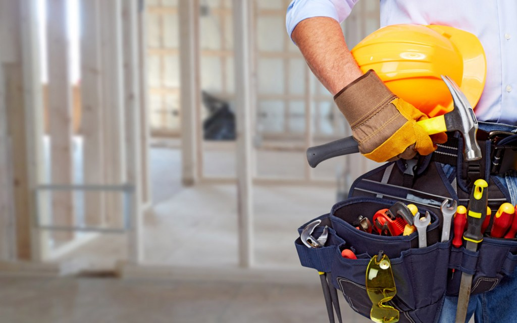Contractors manage all aspects of the project