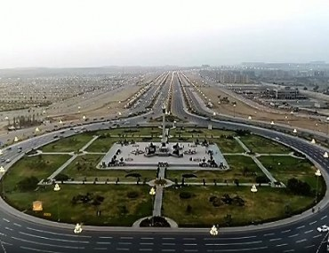 bahria town in karachi view