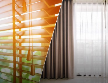 Choosing between blinds or curtains for windows