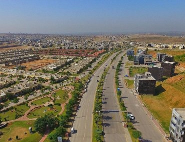 Aerial view of Bahria Town Rawalpindi
