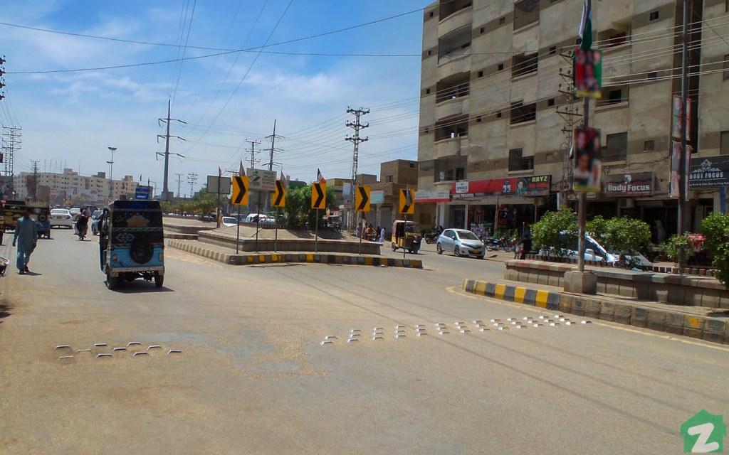 The neighbourhood of Qasimabad