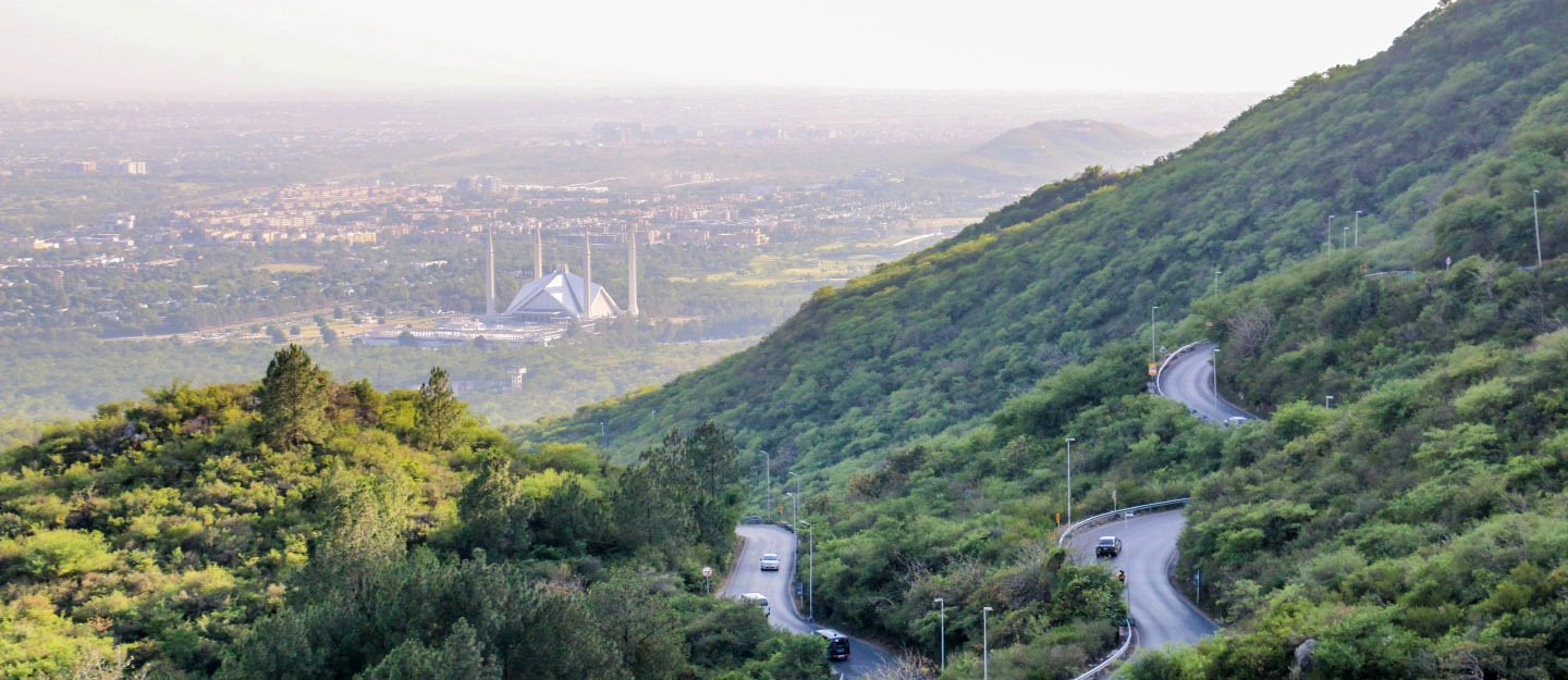 A view from Margalla Hills