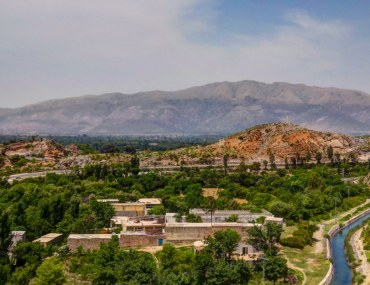 Aerial View of Taxila