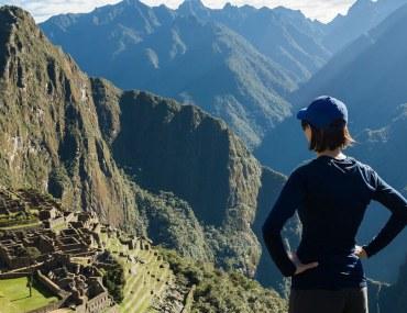 Woman travelling alone to Machu Pichu