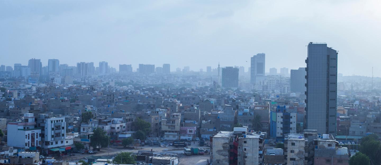 Skyscrapers in Karachi