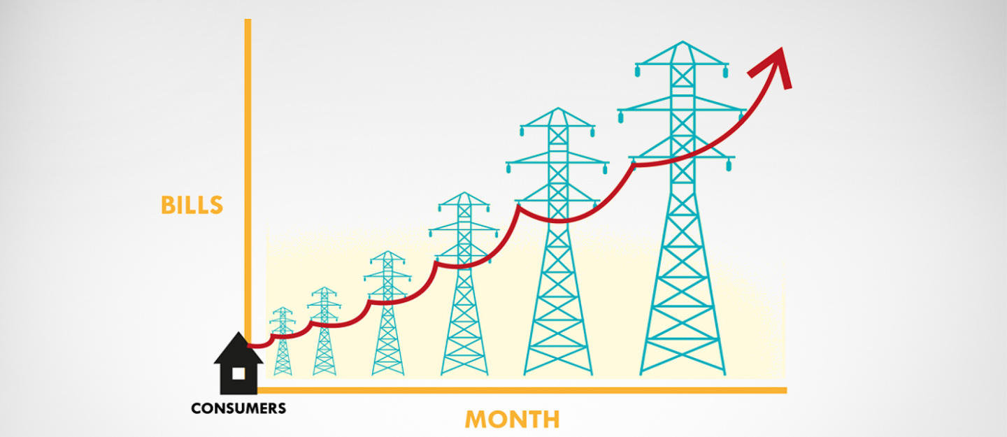 Electricity bills getting high