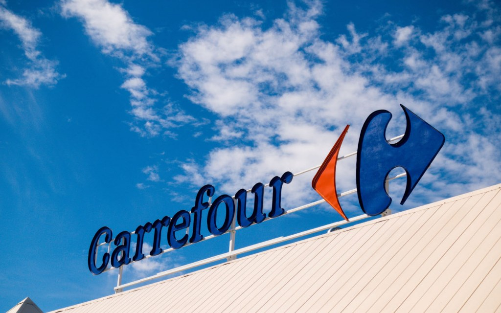 Carrefour is an international chain of supermarkets