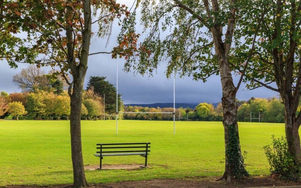 A peaceful public park