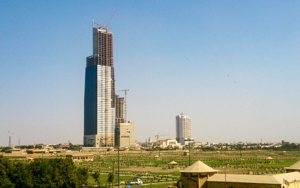 Bahria Icon Tower in Karachi is 62-storey-tall skyscraper