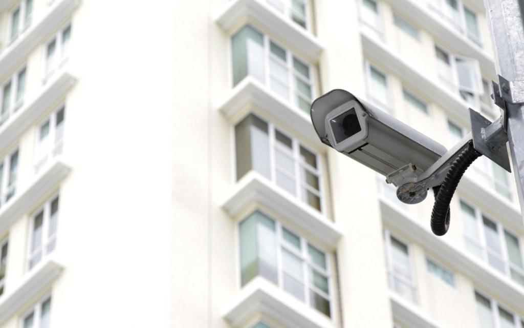 CCTV Camera outside a building