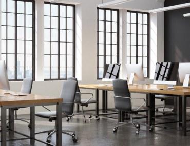 A Modern Workspace Interior