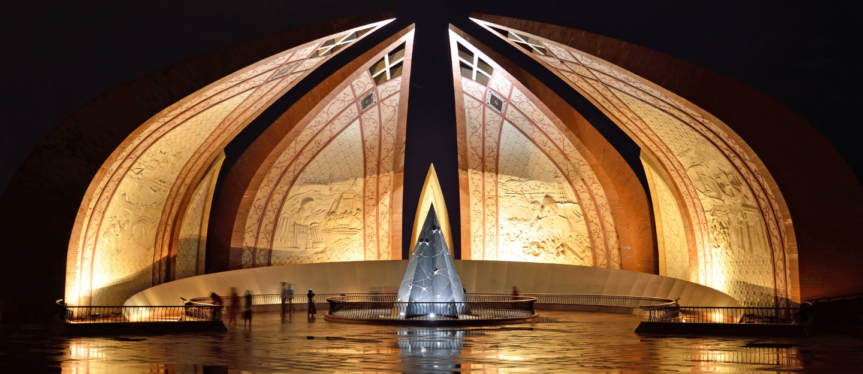 Pakistan Monument in Islamabad