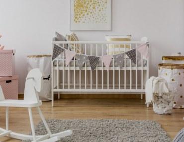 Nursery decor ideas for baby girls