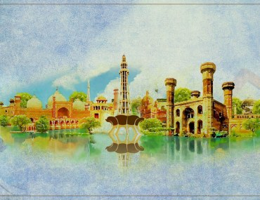 Cover of Landmarks in Lahore