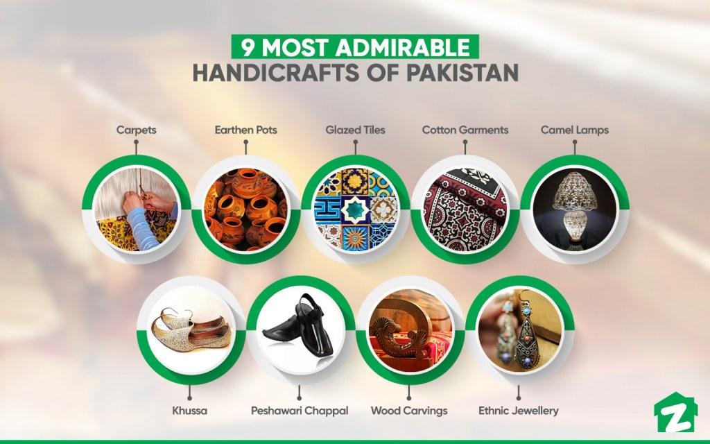 handicrafts in Pakistan