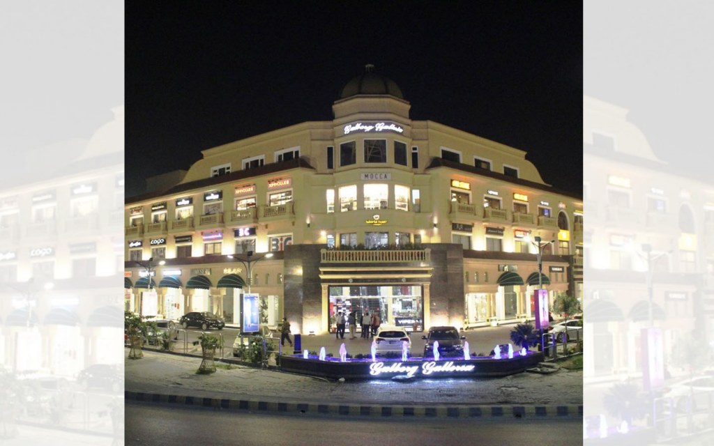 Gulberg Galleria mall in lahore has dozens of shops for eid shopping