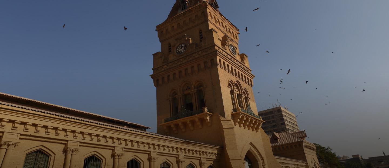 Empress Market in Saddar Karachi