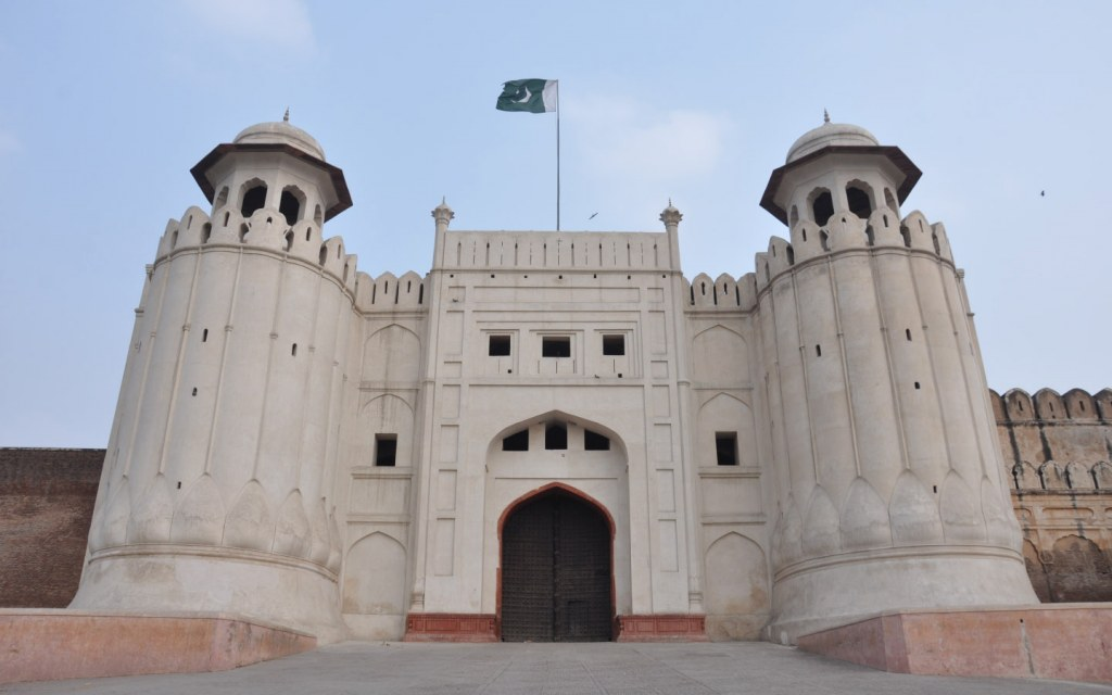 Lahore fort is a popular tourist attraction