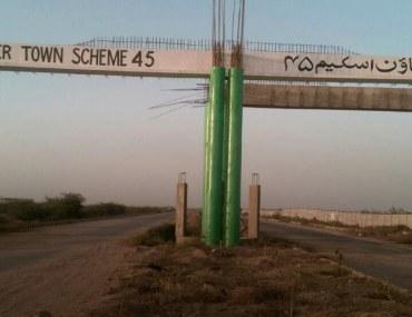 Taiser Town Scheme 45 recently held its plot balloting
