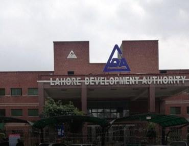 LDA's office in Johar Town, Lahore