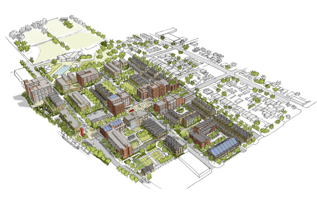 The master plan of Taiser Town Scheme 45 has residential, commercial as well as recreational spaces