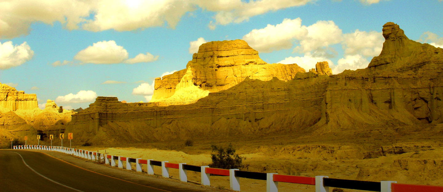 the very famous Hingol National Park in Balochistan