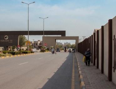 living in Askari 11 Lahore