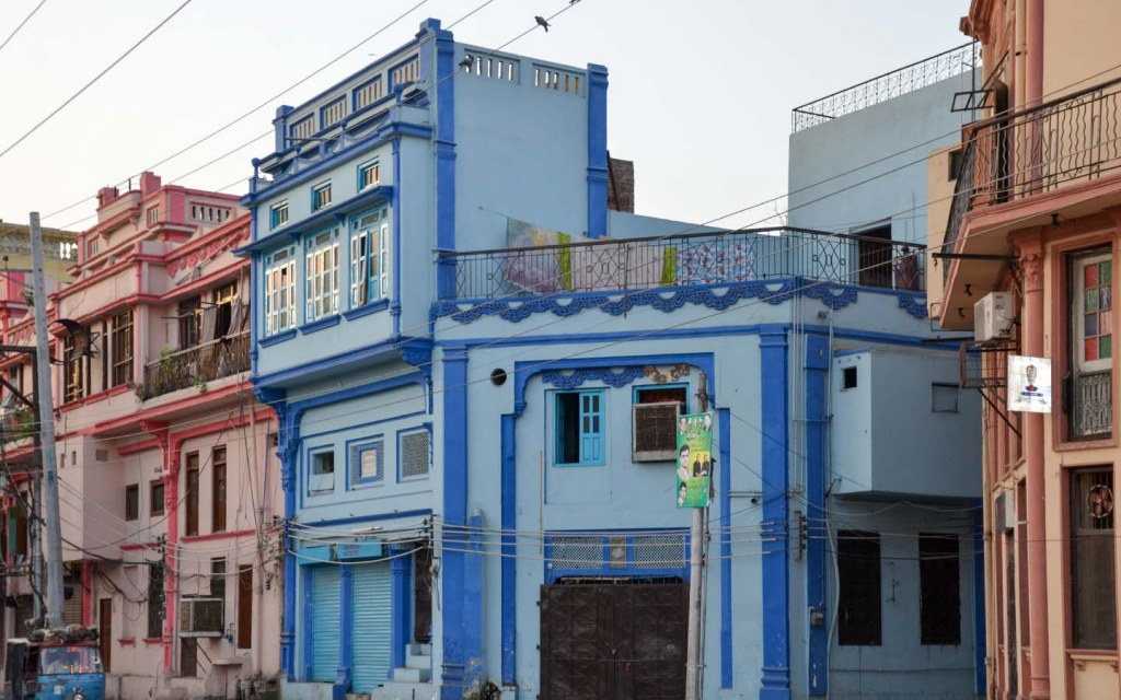 Delightfully Coloured Antique Structures in Walled City Lahore