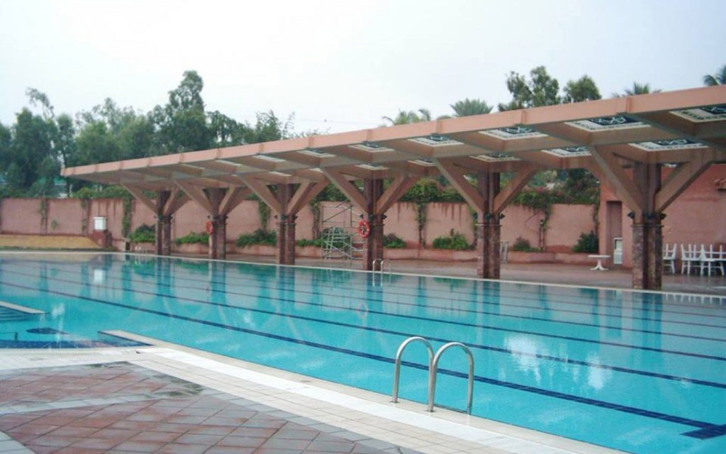Swimming pool at AKUH Sports Complex