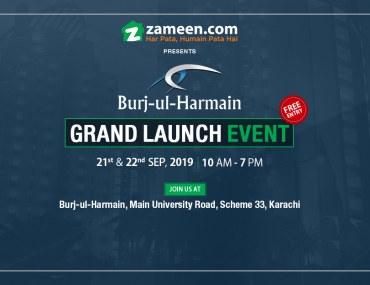 Grand launch of Burj-ul-Harmain Tower in Karachi