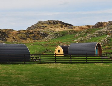 camping pods in KP
