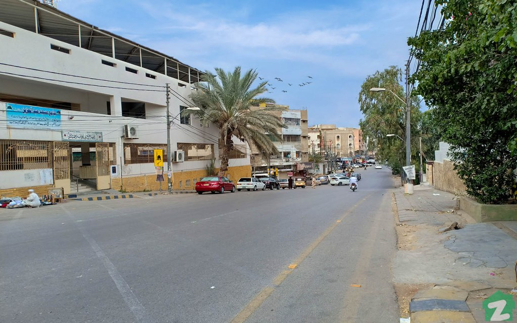 Defence Karachi has a wide network of streets and roads