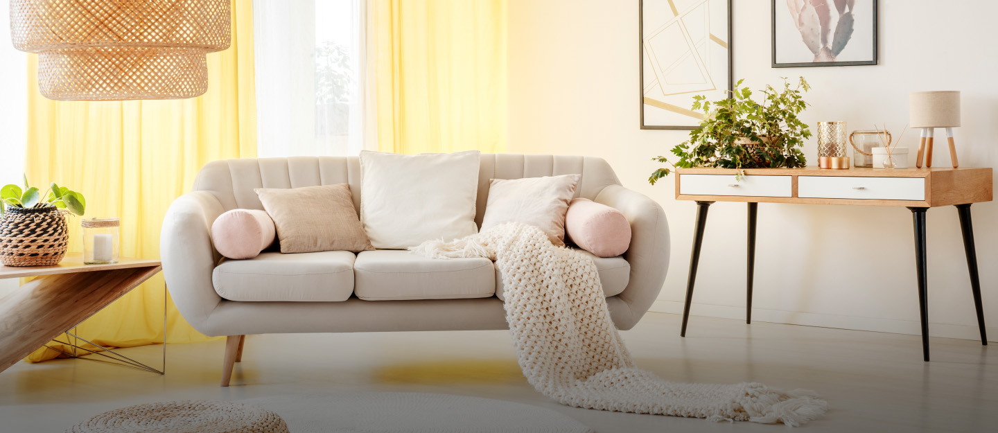 Cosy home décor on a budget