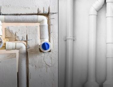 Decide between Concealed or Exposed Plumbing