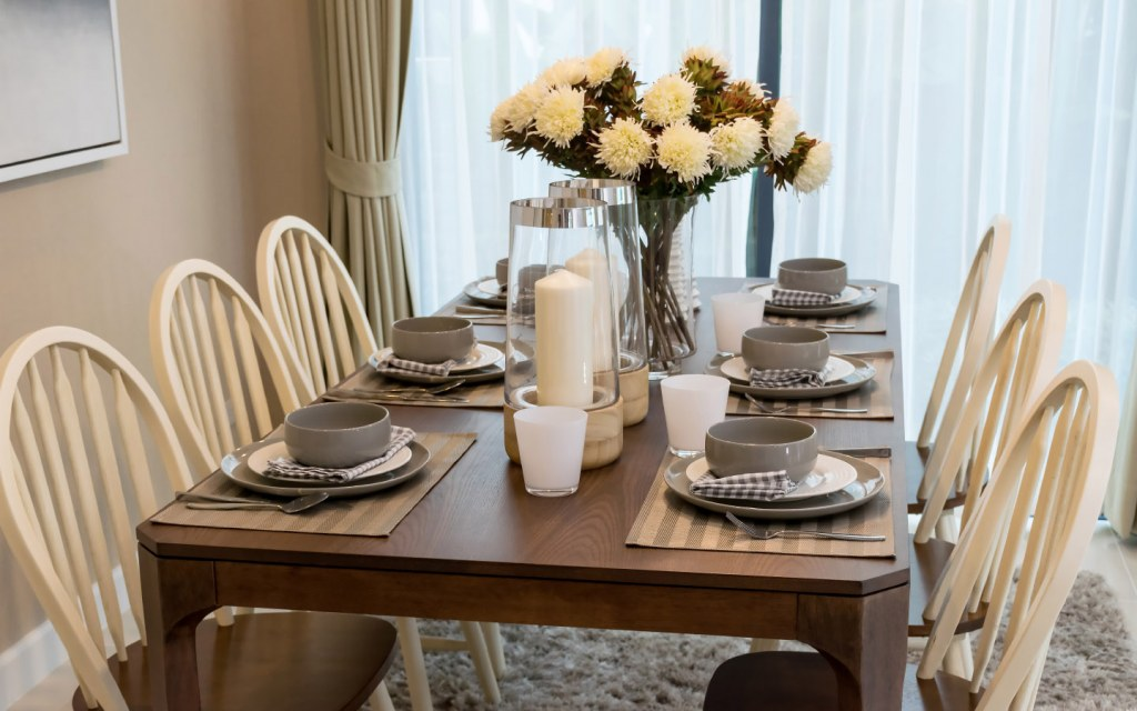 dining table is a must-have for new homeowners