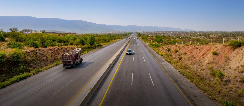 network of motorways in pakistan