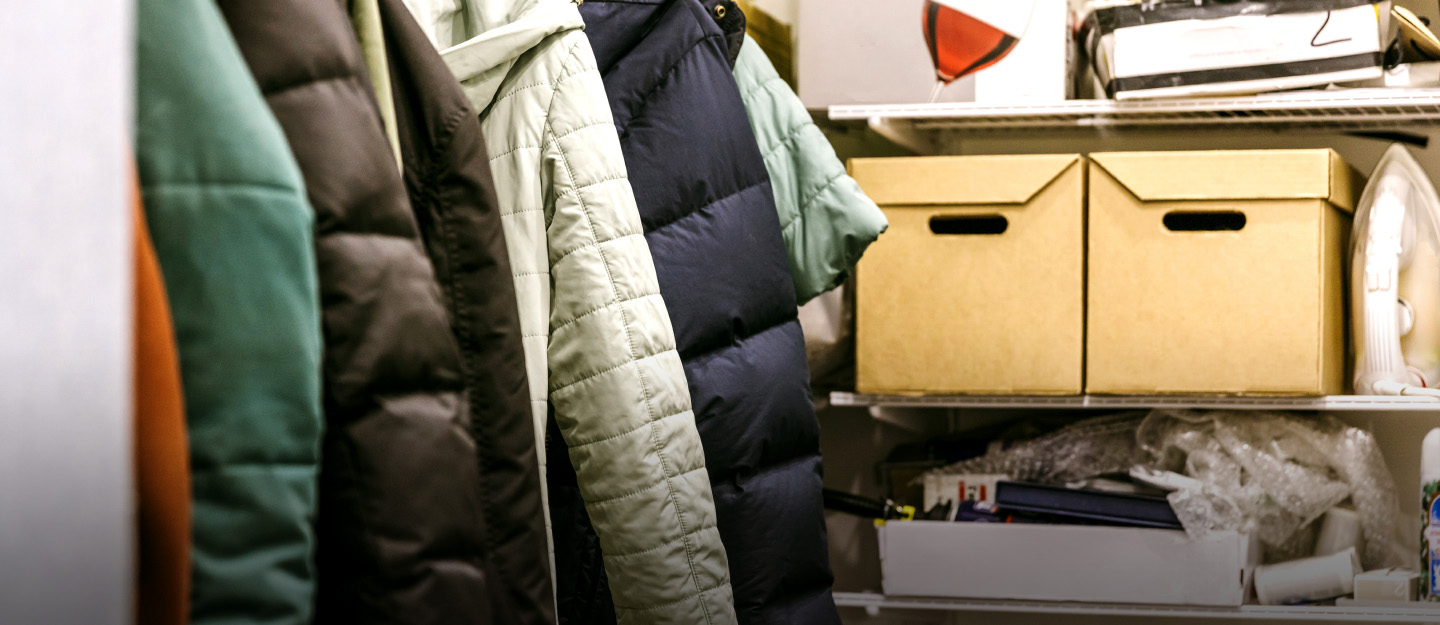 how to declutter the storage areas