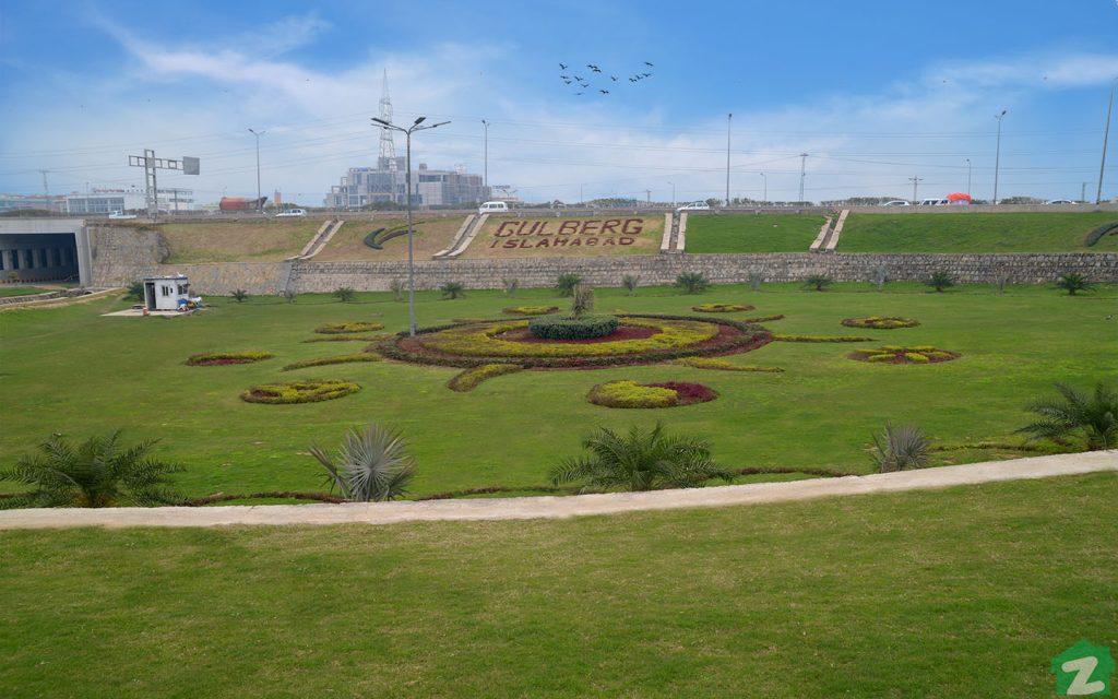 Gulberg Islamabad residential area