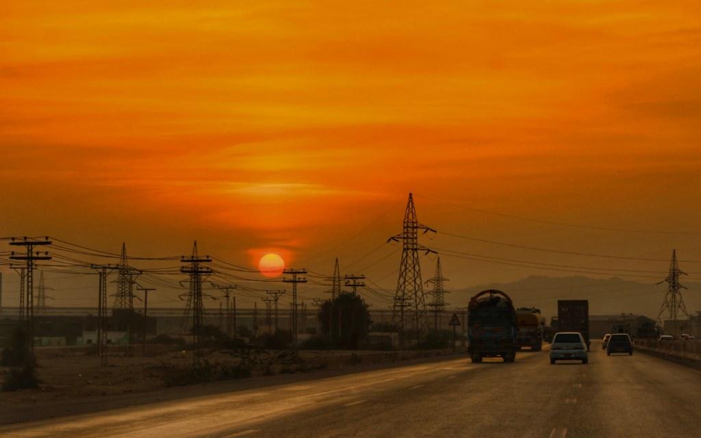 The M9 Hyderabad-Karachi Motorway