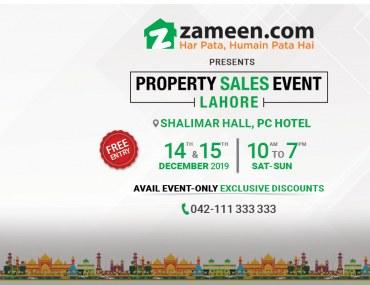 Property Sales Event Lahore - December 2019
