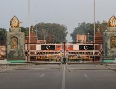 visiting Wagah Border in Lahore