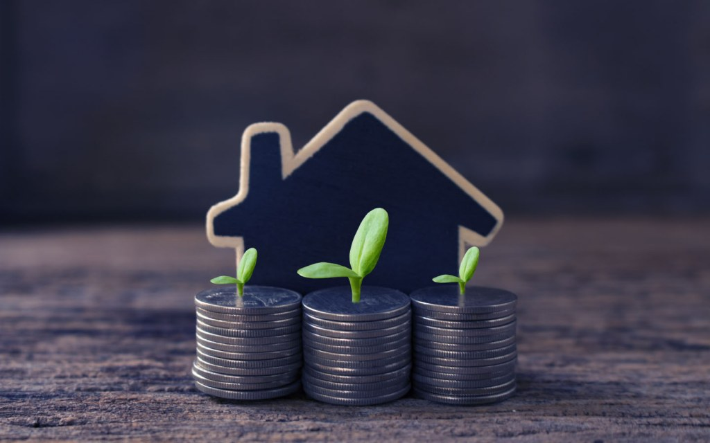 inflow of a steady income on real estate investment