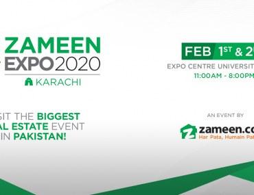 Zameen Expo karachi at Karachi Expo Center