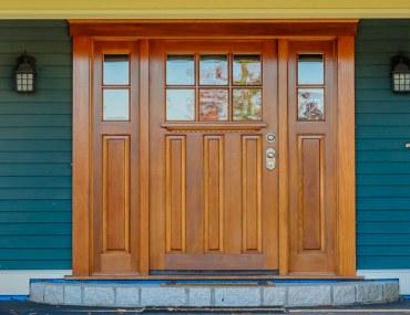different types of front doors
