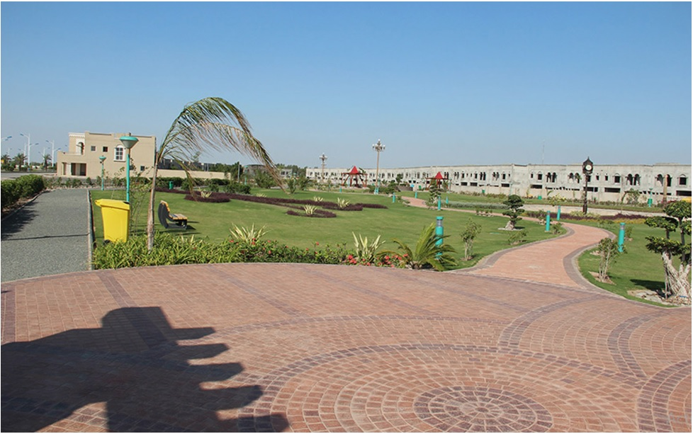 Bahria Orchard, Lahore road view