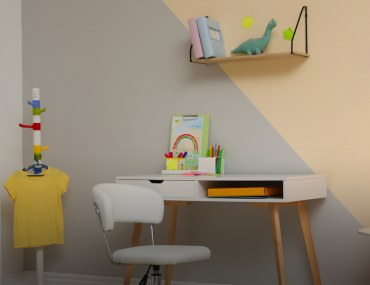 Study Room Ideas for Kids