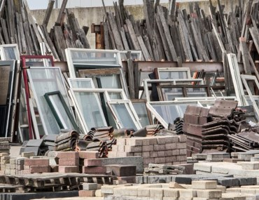 amazing ways to recycle construction waste