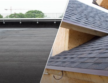 Flat vs. Sloping Roofs