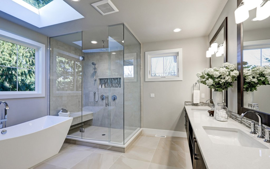types of tiles for the bathroom