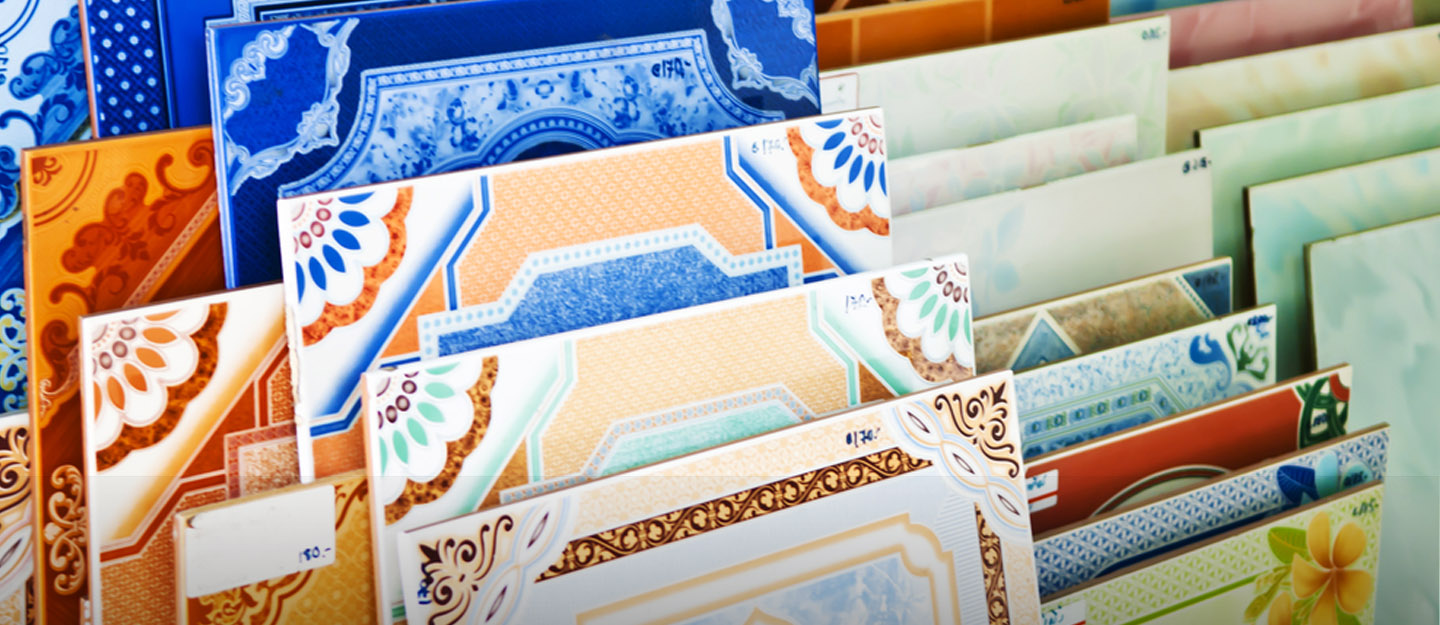 types of tiles for each room in your house